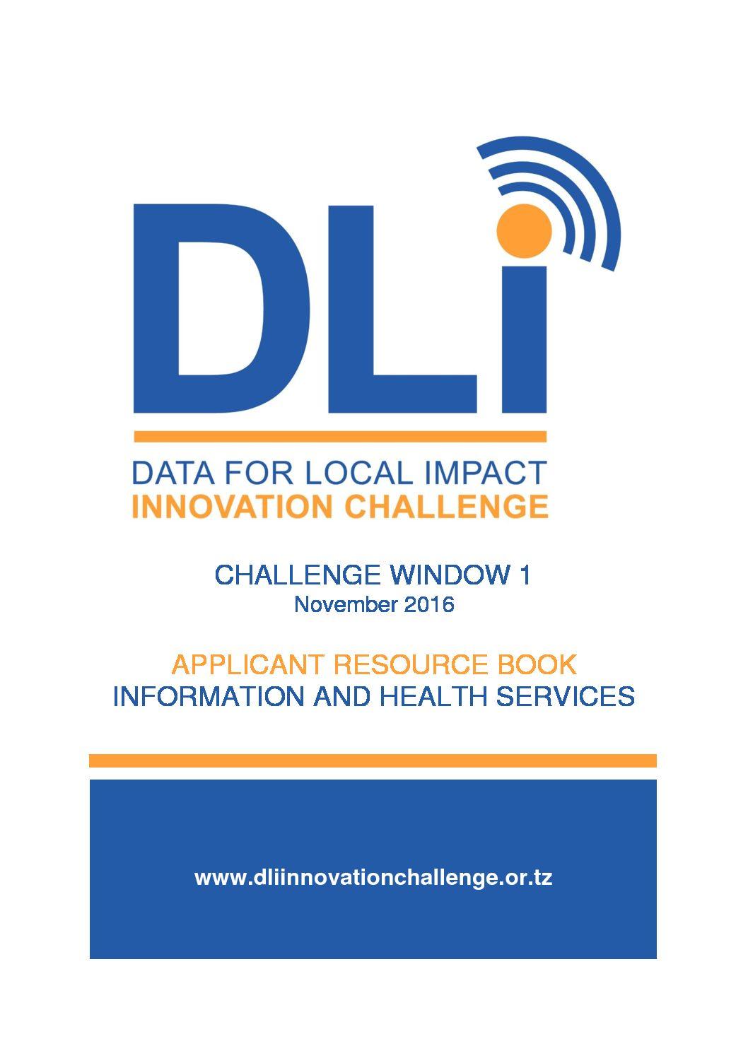Challenge Window 1 - Health Service Data