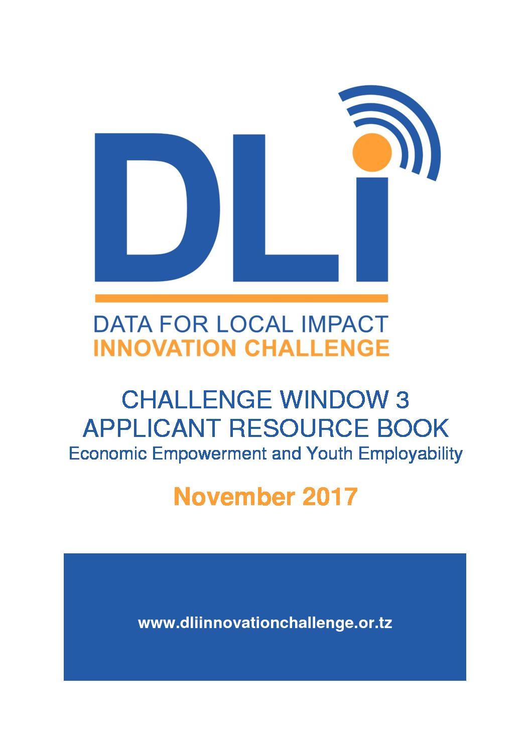 Challenge Window 3 - Economic Empowerment & Youth Employability